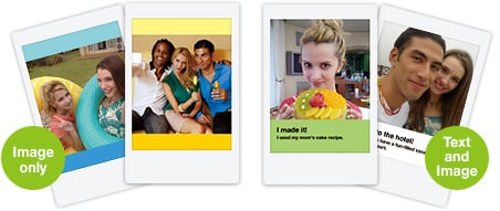 Square Instax Template