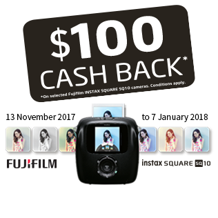 Instax Cash Back