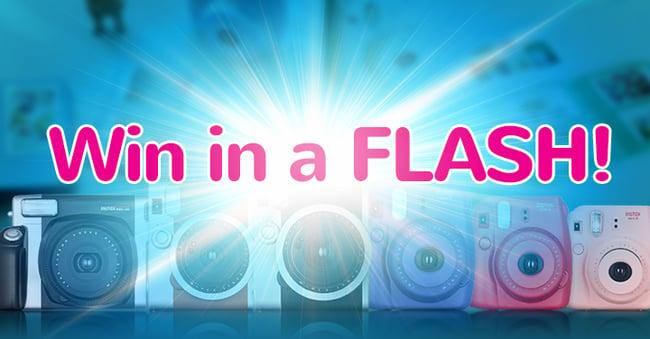 instax Flash Contest