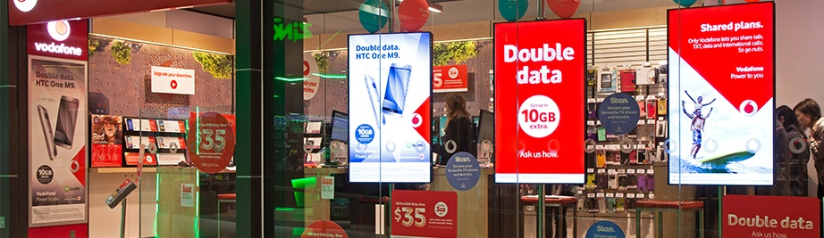 Digital Signage Products Powered by FujiVISION