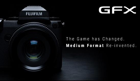 FUJIFILM GFX Camera
