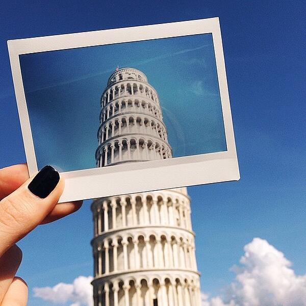 Leaning Tower of Pisa instax wide