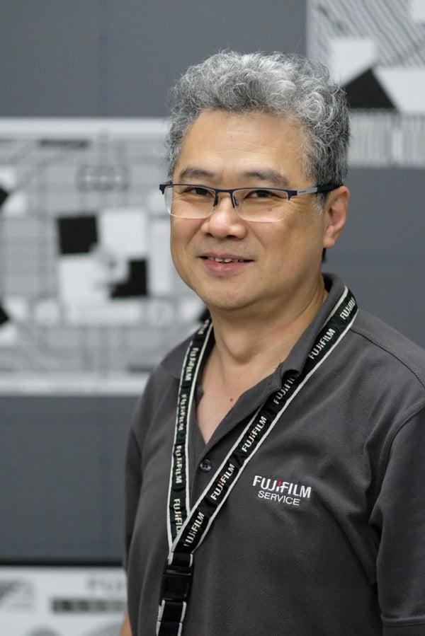 SYDNEY AUSTRALIA, JUNE 2019 - Terry Kasai, Optical Device Technician, Service Centre.
