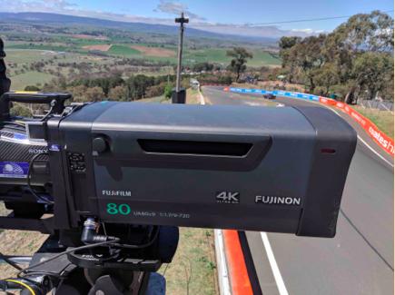 Supercheap AutoBathurst 1000 shot & broadcast in 4K with FUJINON lenses