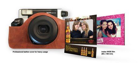 Build Brand Sympathy with instax promotions