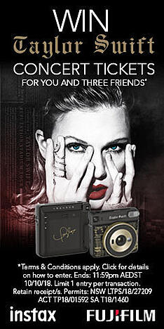 Taylor Swift instax Concert