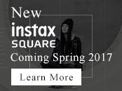 Discover instax Square - Coming Spring 2017 - Learn More