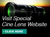 Special Cine Lens Website