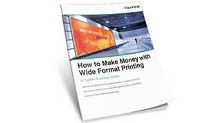 How to Make Money with Wide Format Printing
